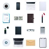 Business desktop objects set