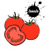 vegetables red tomato