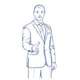 businessman handshake gesturing