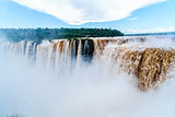 Iguazu Falls, the largest waterfalls
