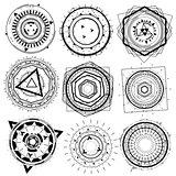 wire geometric decorative shape element