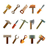 Building Instrument Icons Set