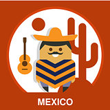 Traditional Mexican Vector Illustration