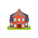 Family Cotage Suburban House Exterior Design