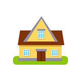 Classic Cottage Suburban House Exterior Design
