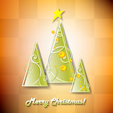 Cute cartoon Christmas tree