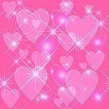 "Ornate ""Valentines Day"" texture"