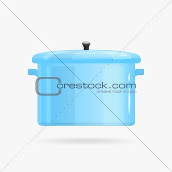 Saucepan Vector illustration