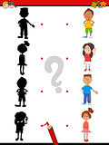 shadow activity with children