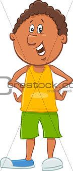 african american boy cartoon