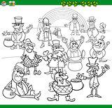 saint patrick day coloring book