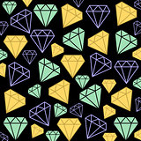 Diamonds as background