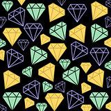 Diamonds as background