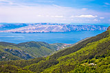 View from Velebit mountain on Senj