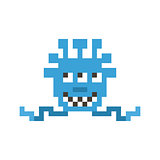 Pixel monster