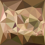 Burlywood Abstract Low Polygon Background