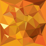 Dark Orange Yellow Abstract Low Polygon Background