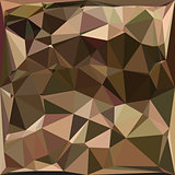 Sienna Abstract Low Polygon Background