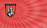 Crusader Security Business card