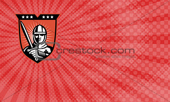 Crusader Security Business card