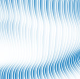 hypnotic background from sheets and strips with a gradient
