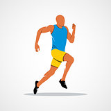 Running, sprinter, athlete