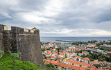 Funchal fortress at Madeira island.