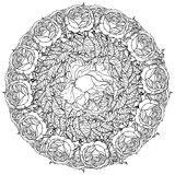 Contoured Line flowers