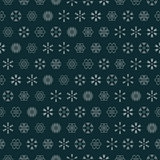 vector snowflakes seamless