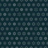 vector snowflakes seamless
