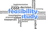 word cloud - feasibility study