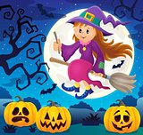 Cute witch theme image 4