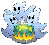 Ghosts stirring potion theme image 1
