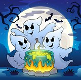 Ghosts stirring potion theme image 2