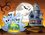 Ghosts stirring potion theme image 3