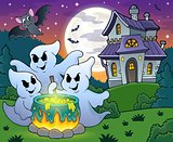 Ghosts stirring potion theme image 4