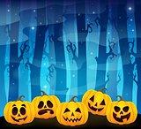 Halloween pumpkins theme image 1