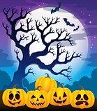 Halloween pumpkins theme image 2