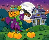 Halloween scarecrow theme image 4