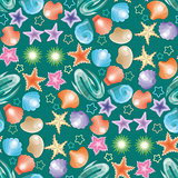 Decorative seamless background pattern.