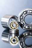 Ball Bearings On Glass