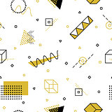 Vector abstract seamless pattern.