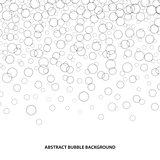 Abstract bubble background.