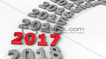 2017 past circle