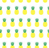 vector seamless pineapple background