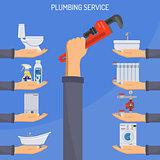 Plumbing Service Concept