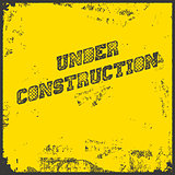 Under Construction Industrial Background