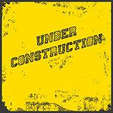 Under Construction Industrial Background