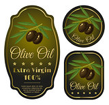 labels for olive oil