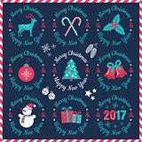 vintage logos for Christmas